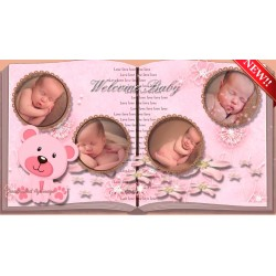 ♥‿♥Album Baby Girl CARINA♥‿♥ TEMPLATEPROSHOWPRODUCER creatividad aguinaga