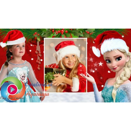 "Proshow Producer Project Frozen Christmas ""Creatividad Aguinaga """