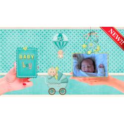 Los 12 meses del primer año del Bebé TemplateProshowProducer