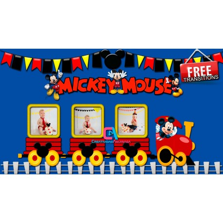 Mickey Mouse Dylan Project Proshow Producer / Mickey Mouse Transitions Free