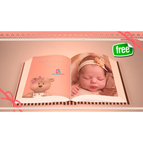 Cute newborn baby video - Project Proshow Producer