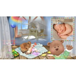 Elegant keepsake album for Babies Cody Proshow Producer