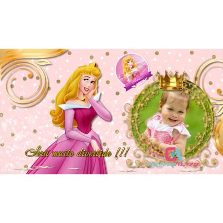 Invitación Princess Aurora Proshow Producer