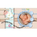 Baby Boy Photo Album, Baby Shower  Proshow Producer project
