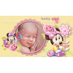 Animated Invitation Minnie Mause Baby Shower / Proshow Producer