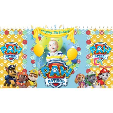 Paw Patrol Animated Invitation Happy Birthday