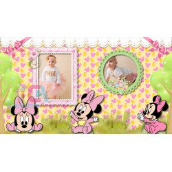 Baby Girl Disney Minnie Mouse Photo Album Digital / Proshow Producer