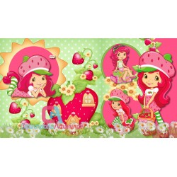 Animated Invitation Strawberry's Birthday