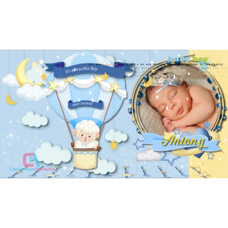 Invitation for Baby Shower