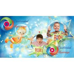 ʕ • ᴥ • ʔ Proyecto Proshow Productor Niño en el Espacio ʕ • ᴥ • ʔ