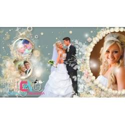 Vídeo de boda elegante  ( Proshow Template)