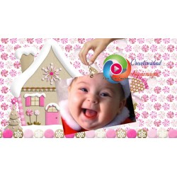 Proshow Producer Baby Girl Christmas Enjoy the most special time of the year!