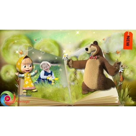 """Masha and the Bear"" Proshow Producer  [Creatividad Aguinaga]"